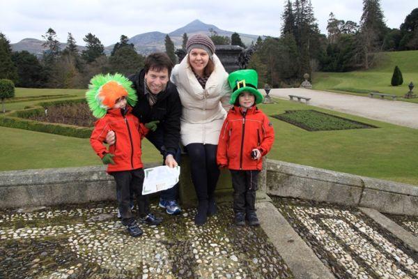 Shamrock Hunt Powerscourt Gardens resized 600