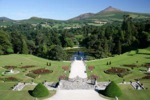 Italian Garden Powerscourt Estate