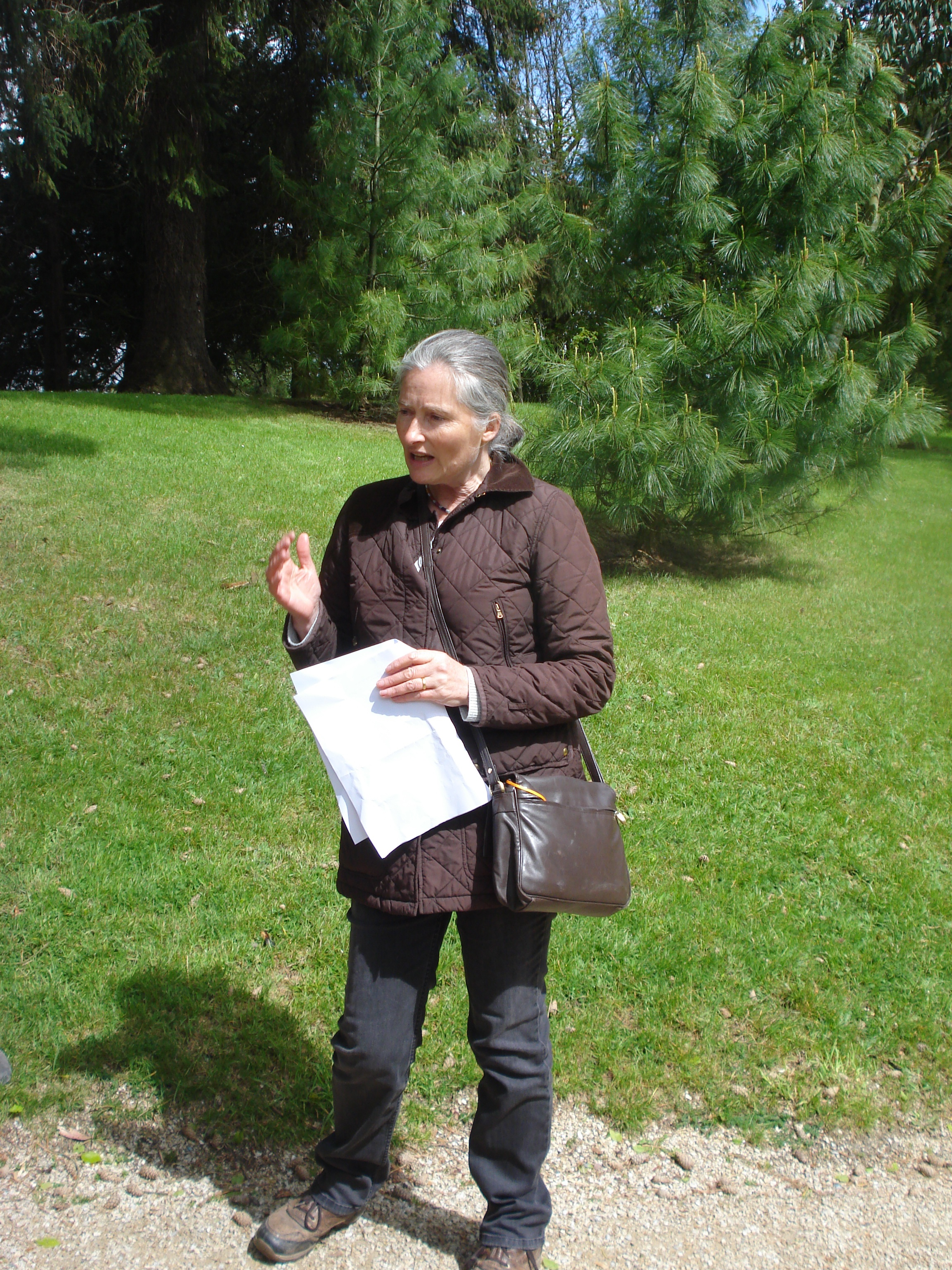 Guided walking tour of Powerscourt Gardens with Sara Waldburg