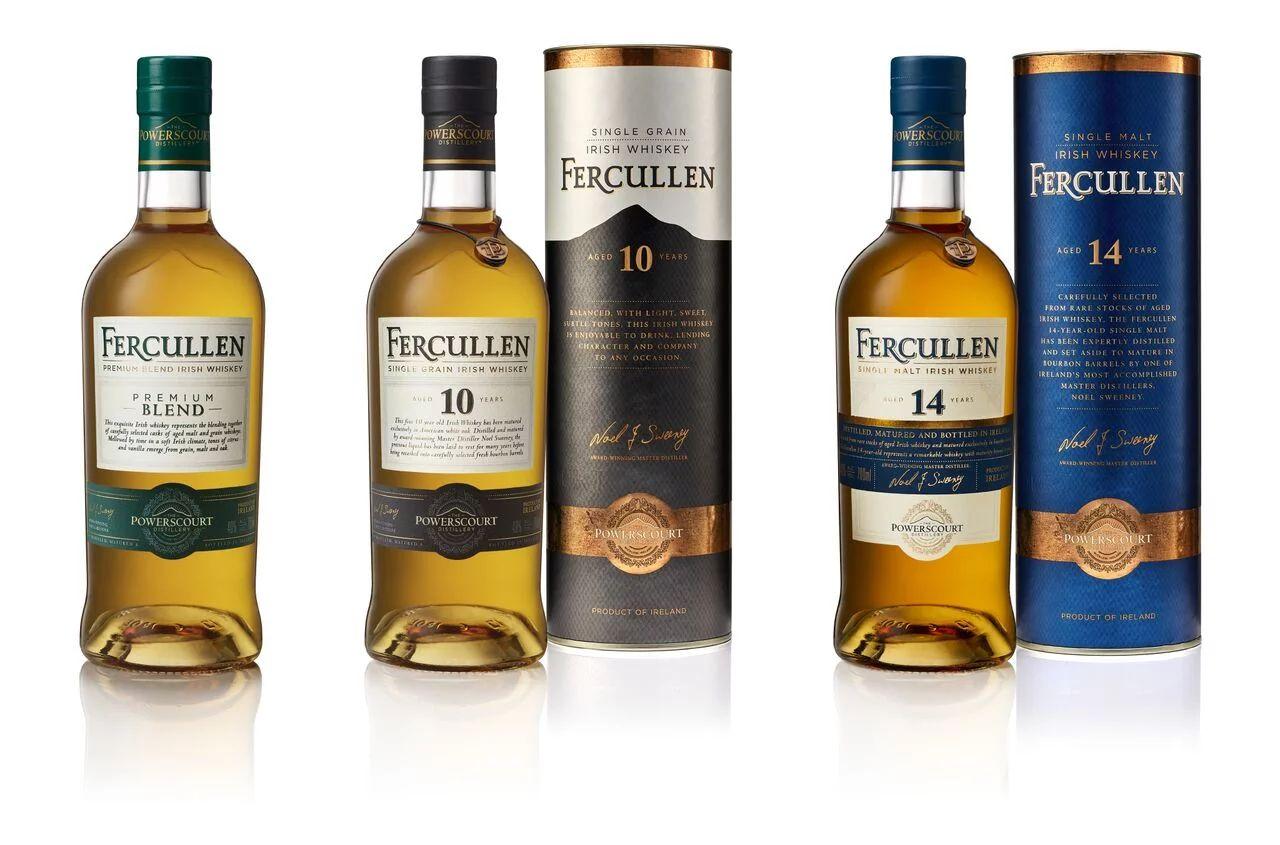 Fercullen brand from the Powerscourt Distillery
