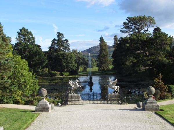 A stroll through the trees at Powerscourt with David Corscadden