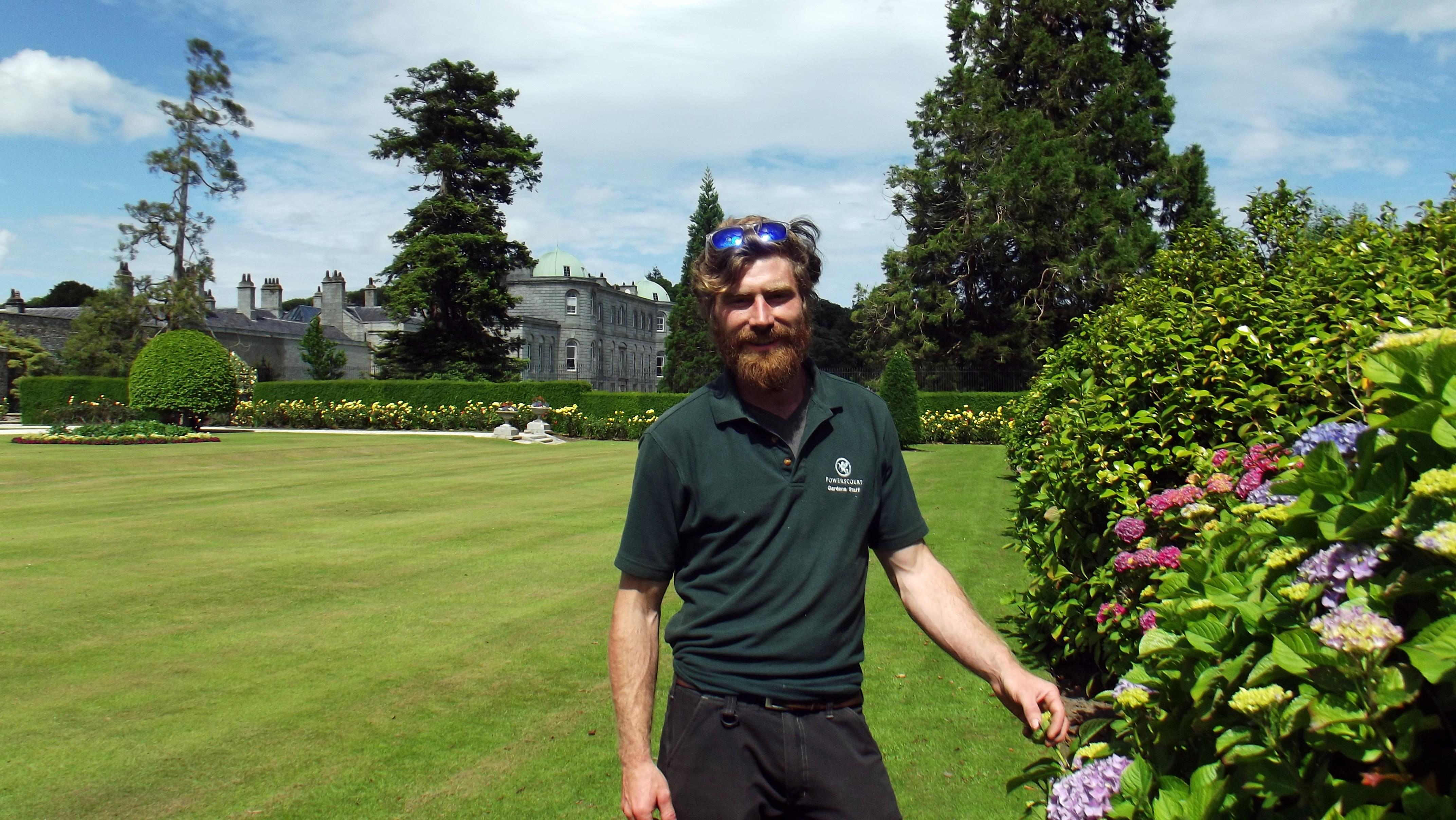 Alex Slazenger, Head Gardener