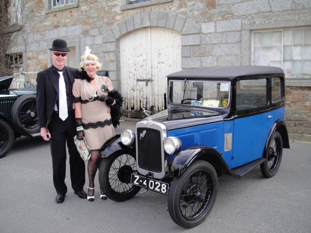 Vintage Car Rally Powerscourt Estate