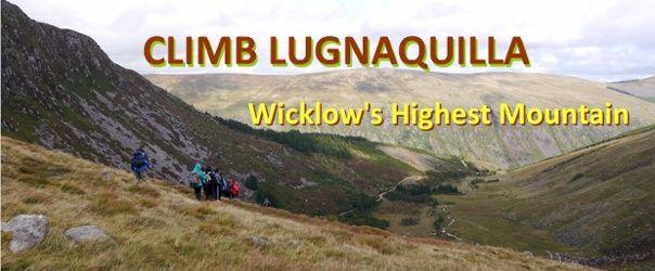 Walk up Lugnaquilla in Wicklow, the highest peak of Leinster
