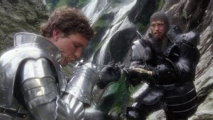 Excalibur Movie at Powerscourt Waterfall