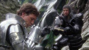 Excalibur Movie at Powerscourt Waterfall