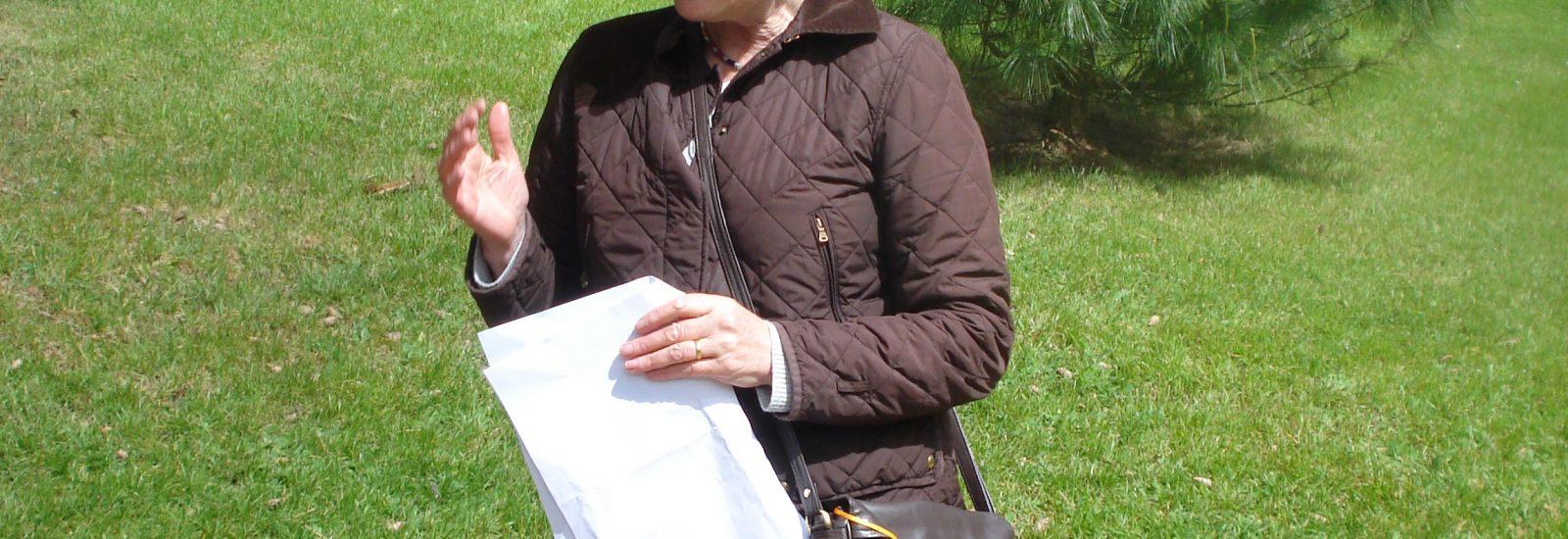 Guided walking tour of Powerscourt Gardens with Sara Waldburg