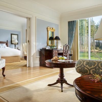 Bedroom suite at Powerscourt Hotel