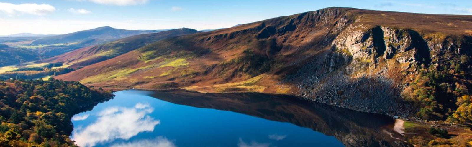 Irelands Ancient East, Lough Tay, Wicklow