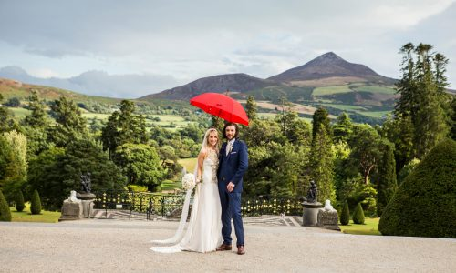 Martin and Sarah Wedding Powerscourt
