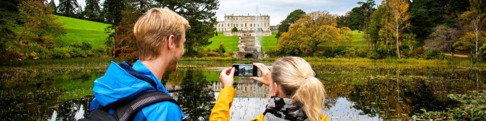 Déan do Chuairt a phleanáil go Powerscourt Estate and Gardens