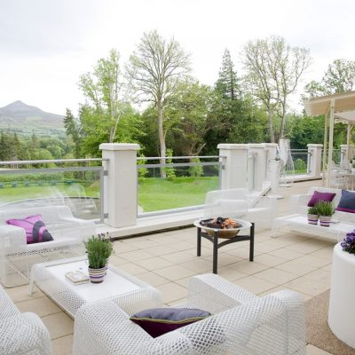 Seating area Powerscourt Hotel Enniskerry Wicklow Ireland