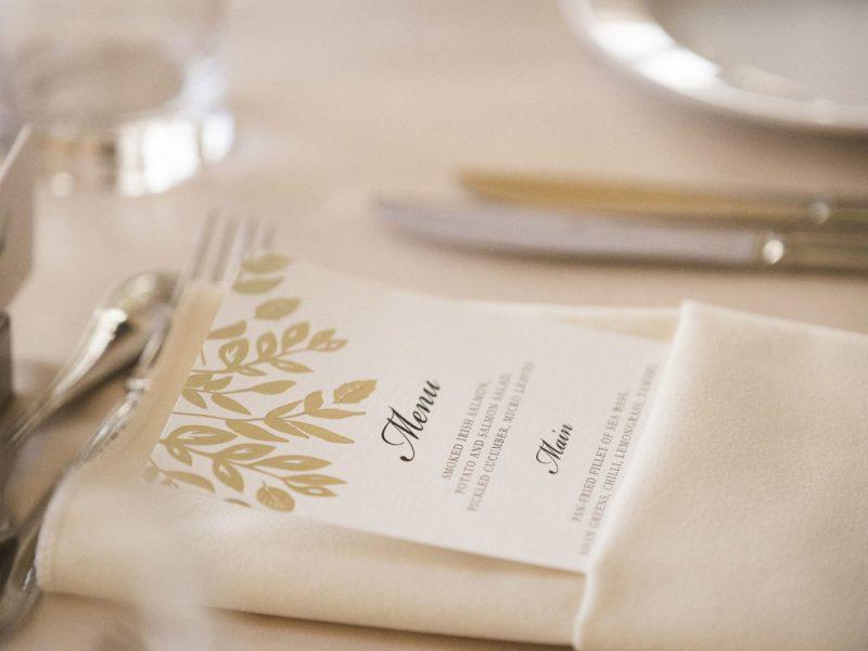 Wedding Dining at Powerscourt