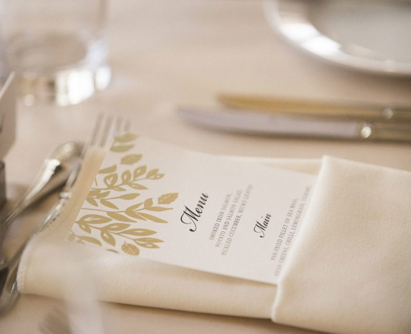 Wedding Dining at Powerscourt
