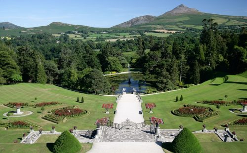 Italian Garden Powerscourt Estate